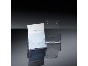 , folderhouder Sigel tafelmodel A5 transparant acryl 1 vak