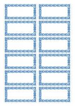 , Etiket Herma keuken blauw