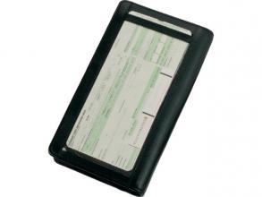 , Reisportefeuille Alassio met RFID Document Safe, zwart      nappaleer,22,5x13x3cm