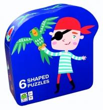 , Deco puzzel piraat