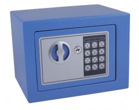, Kluis Pavo mini 230x170x170mm elektronisch blauw