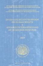 , Inter-American Yearbook on Human Rights Anuario Interamericano de Derechos