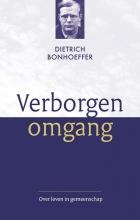 Dietrich Bonhoeffer , Verborgen omgang