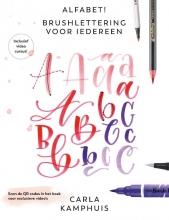 Carla Kamphuis , Alfabet! Brushlettering voor iedereen