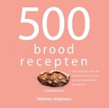 Carol Beckerman , 500 broodrecepten