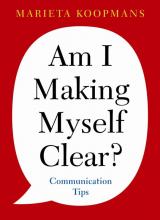 Marieta Koopmans , Am I making myself clear?