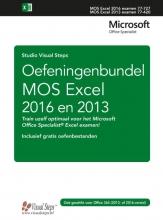 Studio Visual Steps , Oefeningenbundel MOS Excel 2016 en 2013 basis