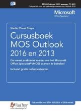 Studio Visual Steps , Cursusboek MOS Outlook 2016 en 2013