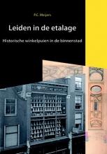 P. Meijers , Leiden in de etalage