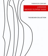 Mies Becker Ton Becker, Twentieth century Japanese bronze flower vases