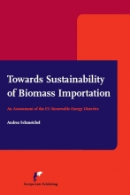 Andrea Schmeichel , Towards sustainability of biomass importation