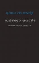 Quintus van Mastrigt Australieq of qaustralie