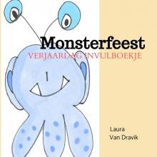 Laura van Dravik , Verjaardag invulboekje monsterfeest