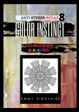 Emmy Sinclaire , Volwassenen kleurboek Color Instinct 8 : Anti Stress Relax FLOW