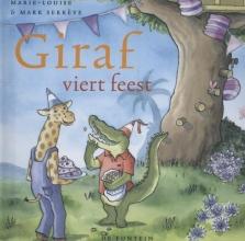 Marie-Louise  Sekrève Giraf kleine editie Giraf viert feest
