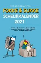 Jean-Marc van Tol John Reid  Bastiaan Geleijnse, Fokke & Sukke scheurkalender 2021