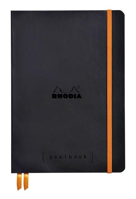 ,Bullet Journal Rhodia A5 60vel dots zwart