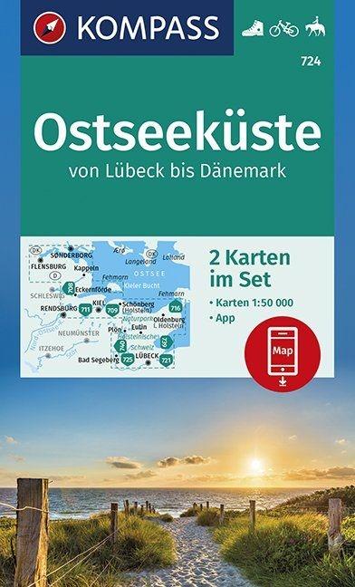 ,Ostseeküste von Lübeck bis Dänemark 1:50 000
