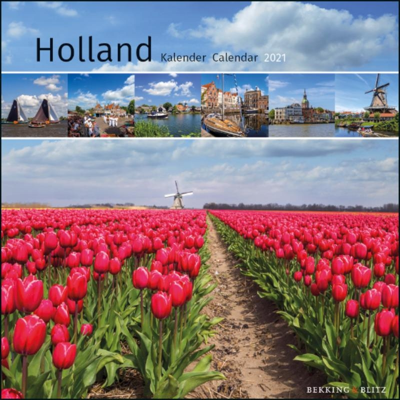 ,Holland mini maandkalender 2021