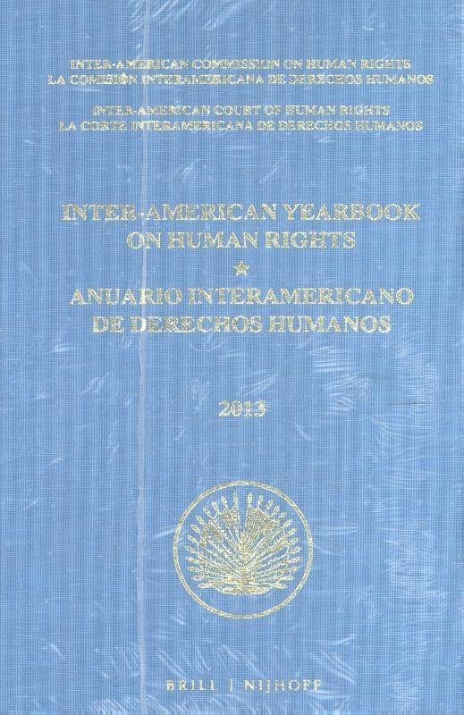 ,Inter-American Yearbook on Human Rights Anuario Interamericano de Derechos