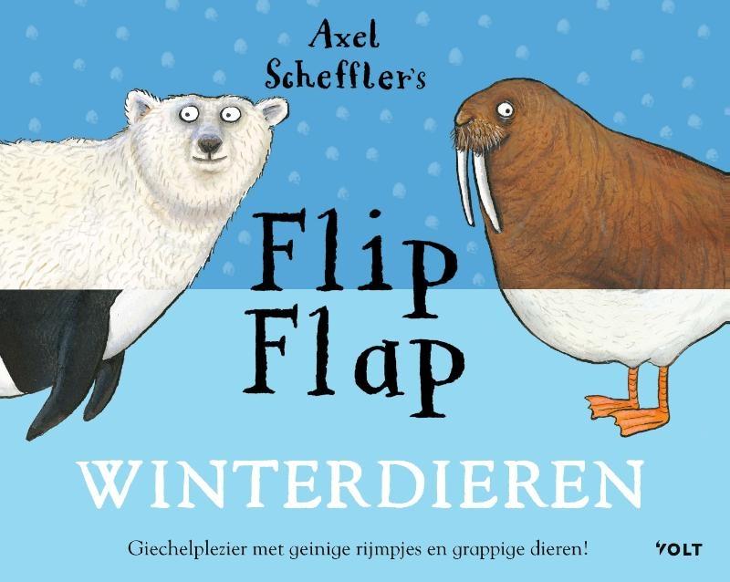 Axel Scheffler,Flip Flap Winterdieren