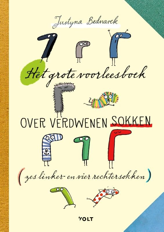 Justyna Bednarek,Het grote voorleesboek over verdwenen sokken