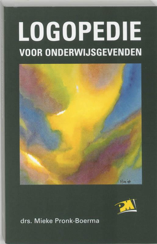 M. Pronk-Boerma,Logopedie voor onderwijsgevenden