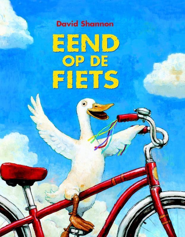David  Shannon,Eend op de fiets