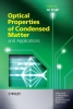 Singh, Jai,Optical Properties of Condensed Matter and Applications