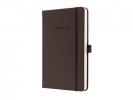 ,notitieboek Sigel Conceptum Pure hardcover A5 bruin         gelinieerd