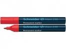 ,Viltstift Schneider 230 rond rood 1-3mm