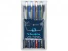 ,rollerball Schneider One Hybrid C 0,5mm etui 4 stuks