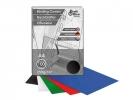 ,schutbladen ProfiOffice A4 250gr karton 100 stuks glossy    zwart