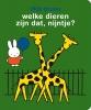Dick  Bruna,stickerboek welke dieren zijn dat,nijntje?