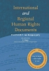,International and regional human rights documents