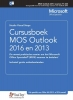 Studio Visual Steps,Cursusboek MOS Outlook 2016 en 2013