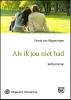 <b>Gerda van Wageningen</b>,Als ik jou niet had - grote letter uitgave