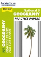 Fiona Williamson,   Leckie National 5 Geography Practice Papers for New 2019 Exams