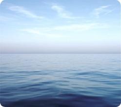 , Muismat Fellowes natuur collectie blauwe oceaan