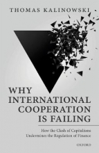 Thomas (Professor at the Graduate School of International Studies, Professor at the Graduate School of International Studies, Ewha Womans University, Seoul) Kalinowski Why International Cooperation is Failing