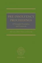 Tollenaar, Nicolaes Pre-Insolvency Proceedings
