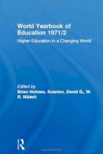 Holmes, Brian World Yearbook of Education 1971/2