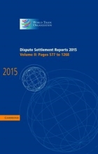 World Trade Organization Dispute Settlement Reports 2015