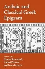 Baumbach, Manuel Archaic and Classical Greek Epigram