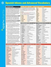 Sparkcharts Spanish Idioms and Advanced Vocabulary