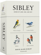 Sibley, David Allen Sibley Birds of Land, Sea, and Sky