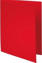 , Vouwmap Exacompta Super A4 80gr rood