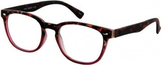 G60525 , Leesbril karl g60500 bruinrood 2.50