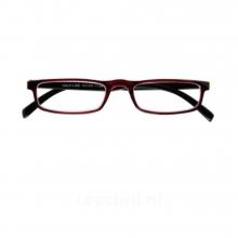 G31300 1.00 , I need you leesbril half-line rood/zwart 1.00