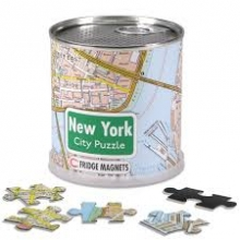 , New York city puzzel magnetisch